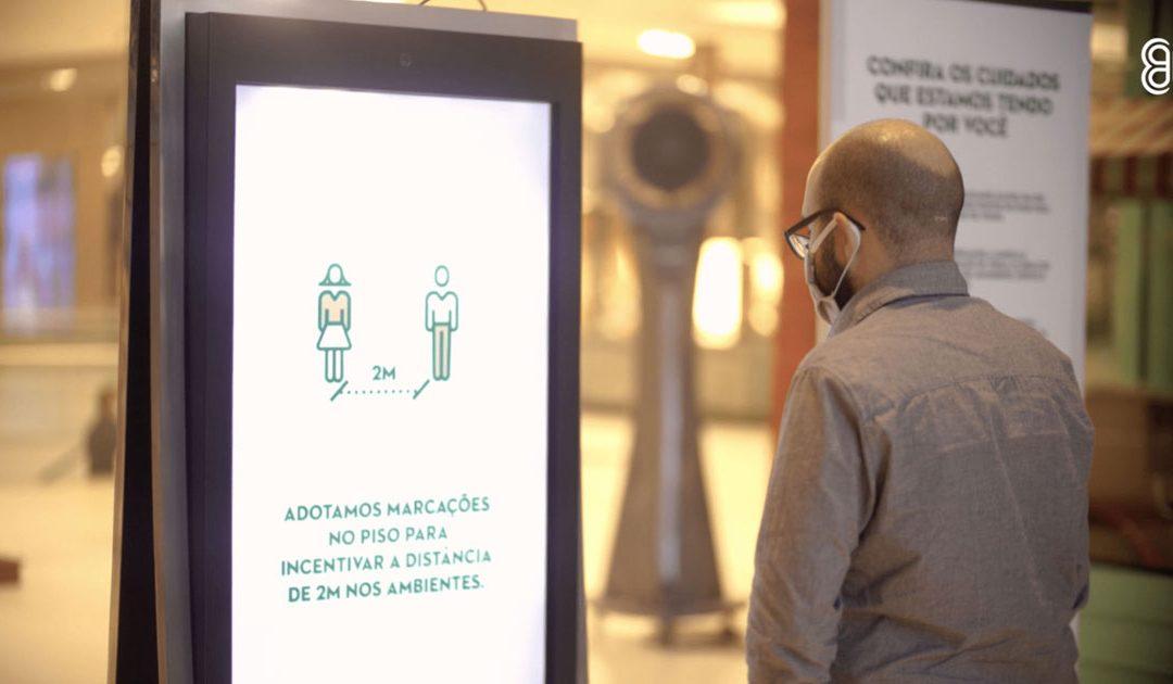 Multiplan apresenta protocolo de segurança dos shoppings